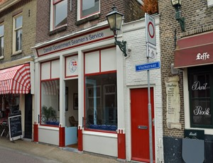 The club at Vischstraat 19, Brielle